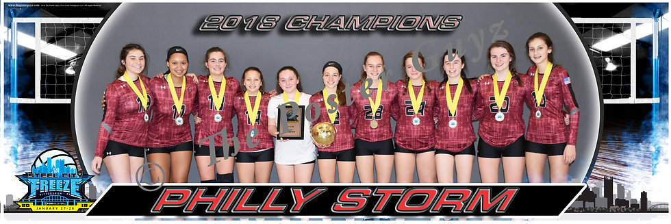 Philly Storm 14 Champions