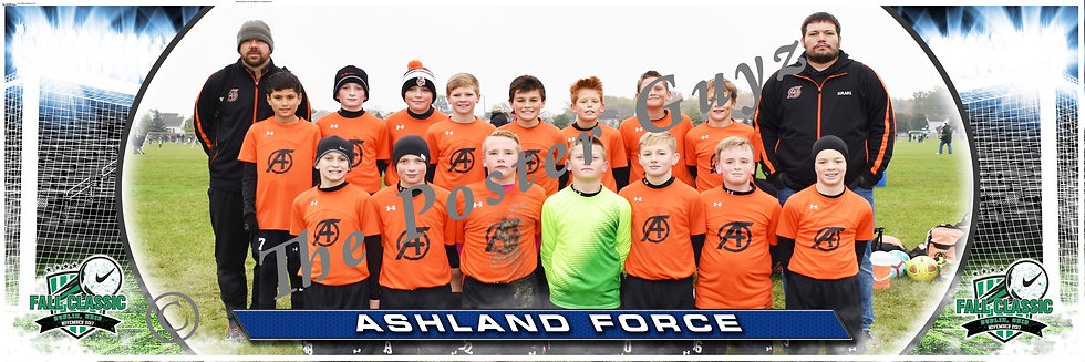 Ashland United FORCE SC (Orange) Boys U13