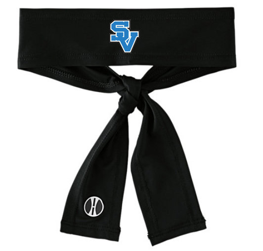 SVGirlsSoccer-Athletic Tie-Back Headband