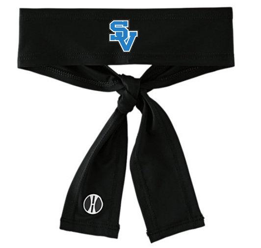 SVSoftball-Athletic Tie-Back Headband