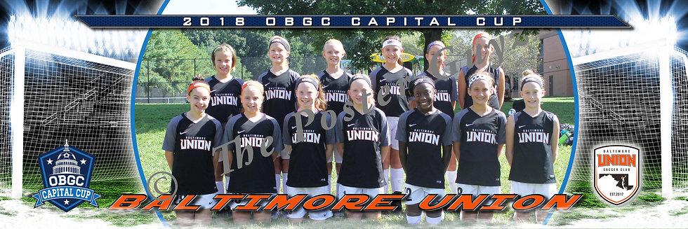 Baltimore Union SC Select 07 (MD) Girls U12