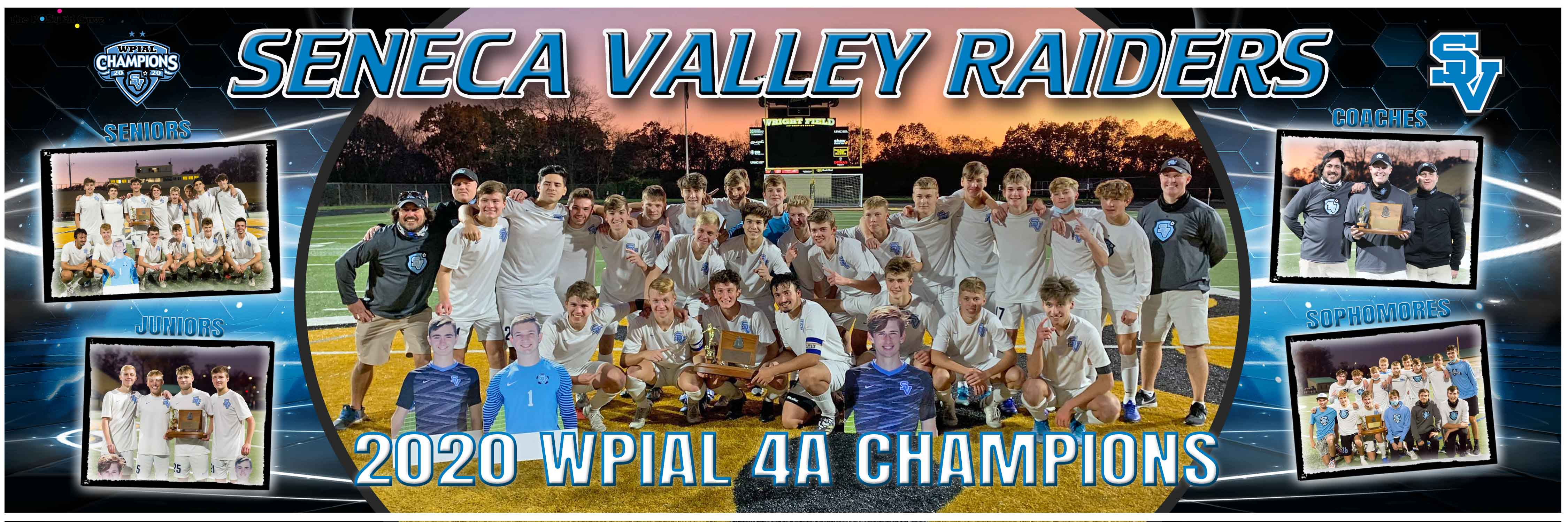 2020 SV Boys WPIAL Championship Poster F
