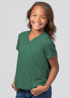 SaintKilian-Girl's Snow Heather Shirt
