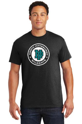 NP Wildcats-Short Sleeve Shirt-Wildcat Round Logo
