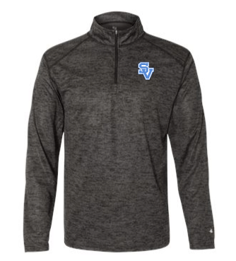 SVBBall-Badger Lightweight Tonal Quarter Zip