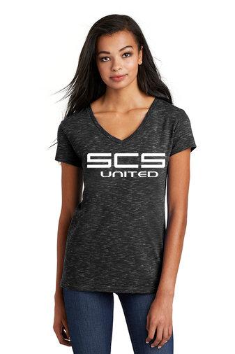 SCS-Women's District Medal V-Neck Shirt
