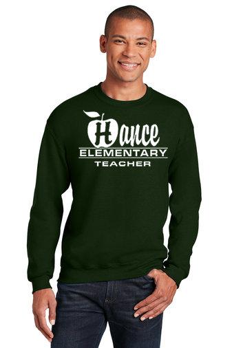 Hance-Crewneck Sweatshirt-Apple Logo