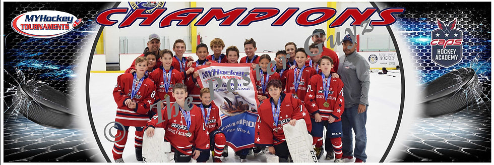 Capitals Academy Peewee A1 Champions