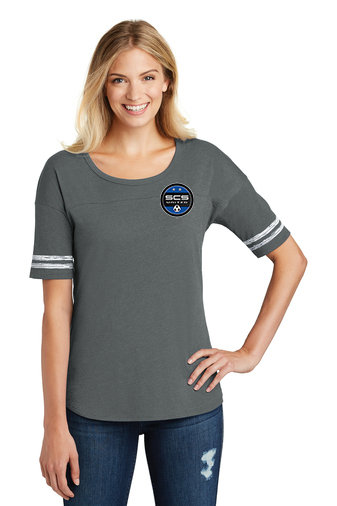 SCS-Women's District Game Shirt-Left Chest Logo