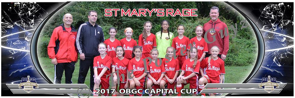 ST MARYS RAGE Girls U12