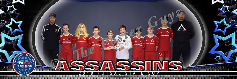 Assassins 06 Boys Red u13B