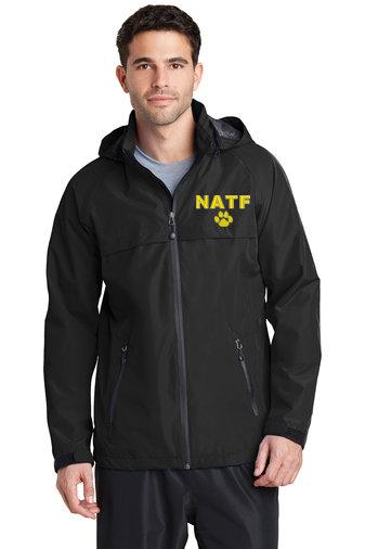 NATF-Men's Full Zip Rain Jacket
