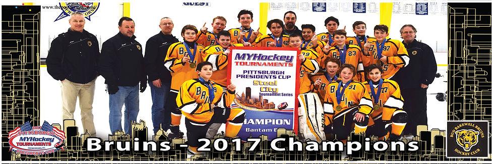 Bud Bakewell Bruins Bantam B Championship