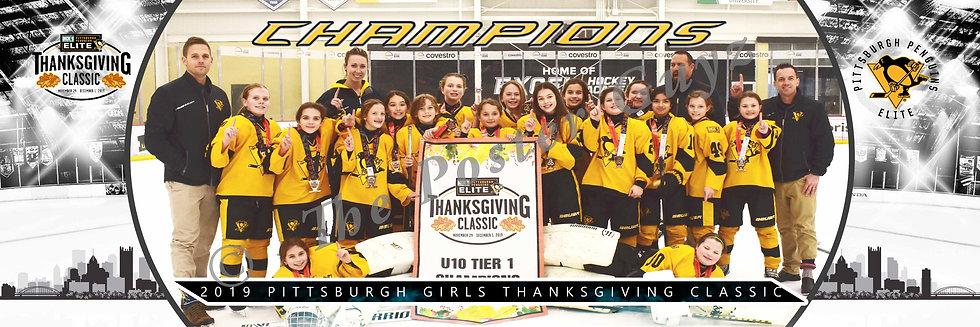 Pens Elite u10t1 A1 Champions on-ice