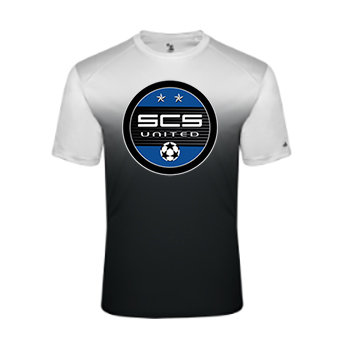 SCS-Ombre Performance Shirt-Round Logo