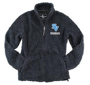 SVChorus-Men's Full Zip Sherpa Jacket