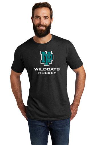 NP Wildcats-Allmade Recycled Short Sleeve Shirt-NP Logo