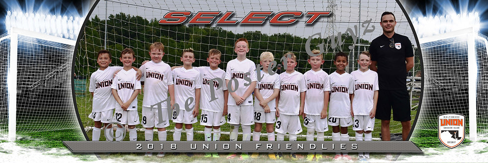 Baltimore Union SC 2010 Select Bowman BU10