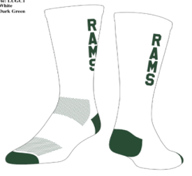 PREden-Custom White PR Socks