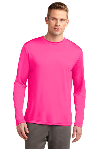 SVJuniorFootball-Pink Long Sleeve Dri Fit Shirt