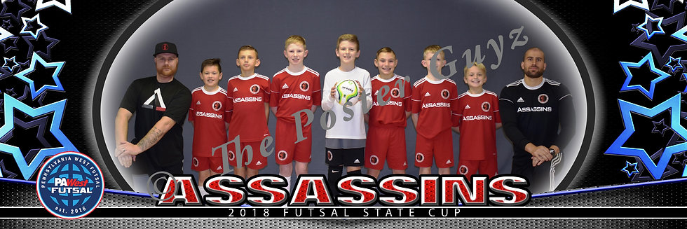 Assassins 09 Boys Red u10B