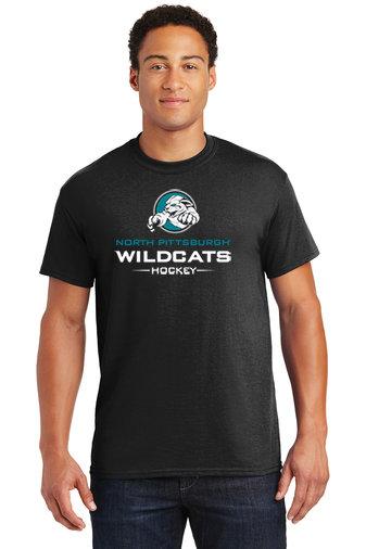 NP Wildcats-Short Sleeve Shirt-Wildcat Logo 2