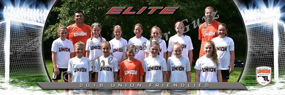Baltimore Union Girls Elite 07 GU12