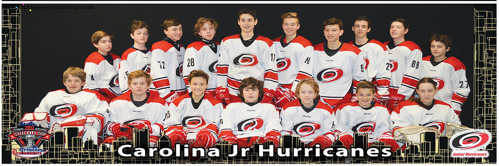 Carolina Jr Hurricanes - White Bantam A