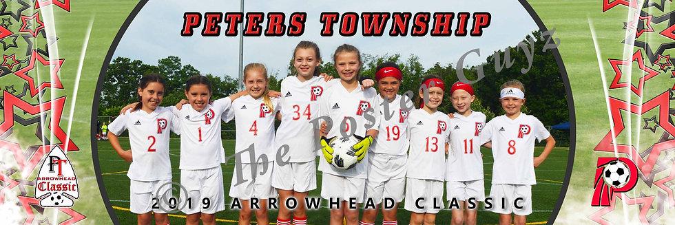 Peters Township Girls 2010 Red Adamshick U10G