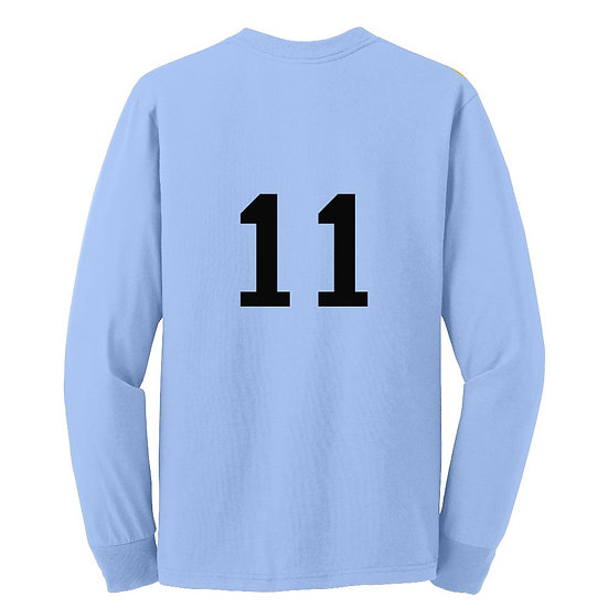 Add number to back of shirt