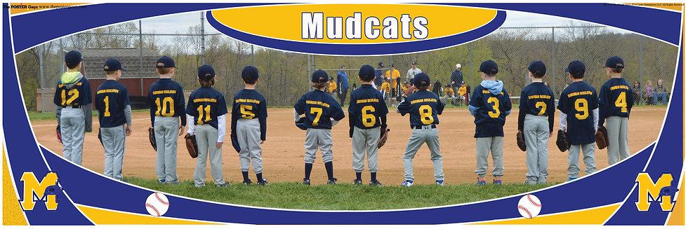 Mudcats Farm 6 Backs