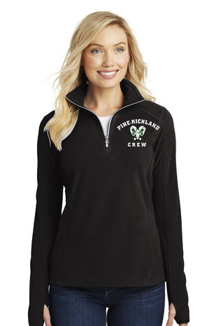 PR Crew-Women's Quarter Zip Fleece Jacket