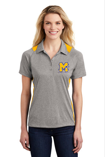 "Ladies Polo Shirt with Mars ""M"" Design"