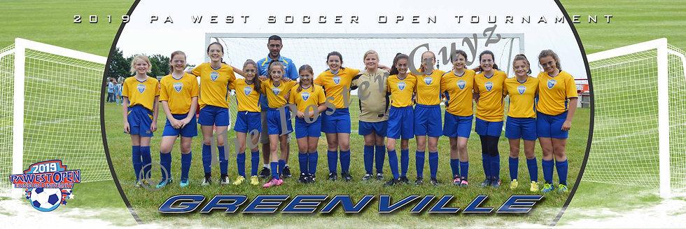 Greenville U12 girls