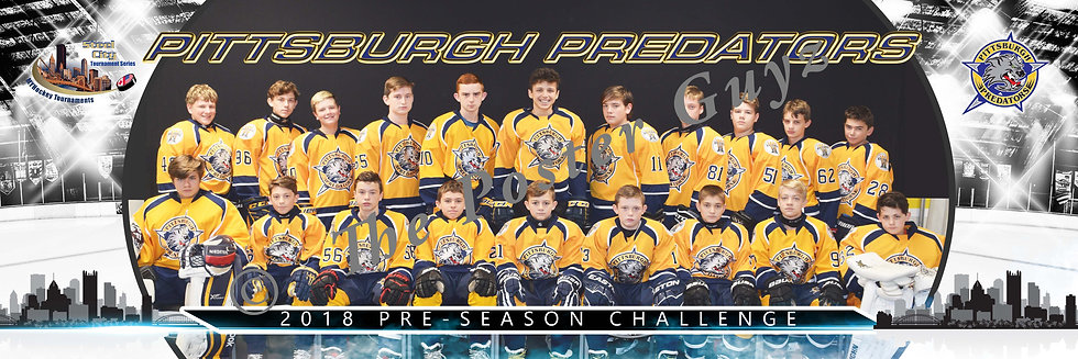 Pittsburgh Predators Bantam A