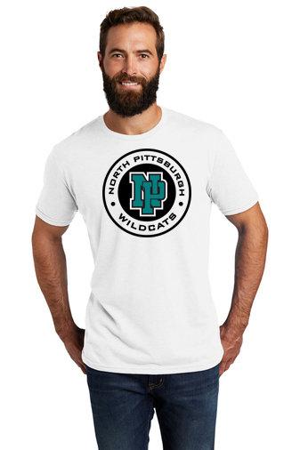 NP Wildcats-Allmade Recycled Short Sleeve Shirt-Wildcat Round Logo