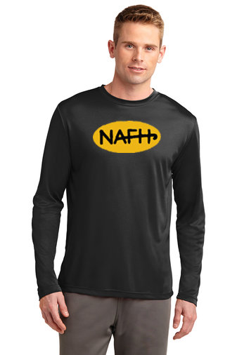 NAFH-Long Sleeve Dri Fit Shirt-NAFH Logo