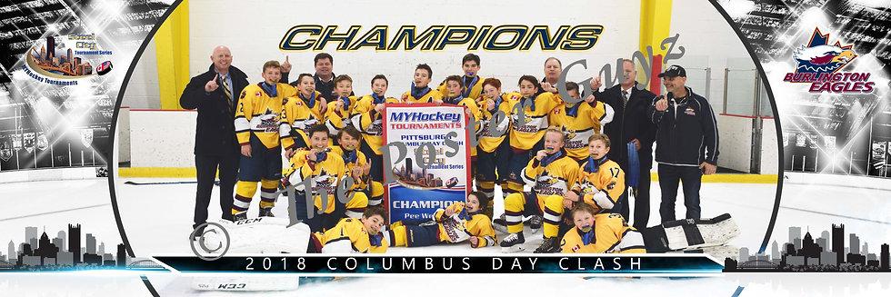 Burlington Eagles PWAA Champions