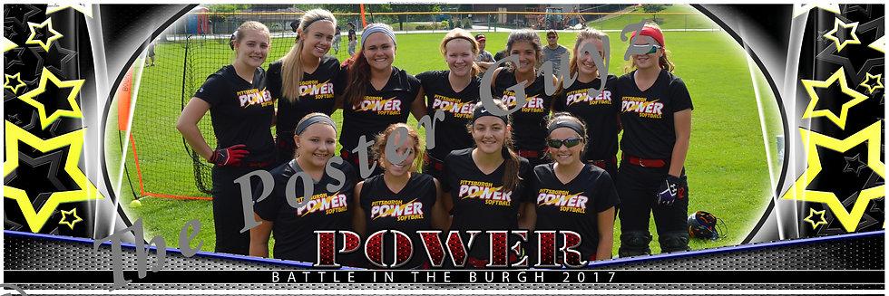Pittsburgh Power- Butler 16A