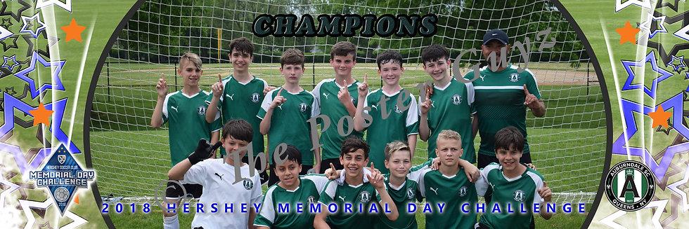 Auburndale 04 Green U14 B Champions