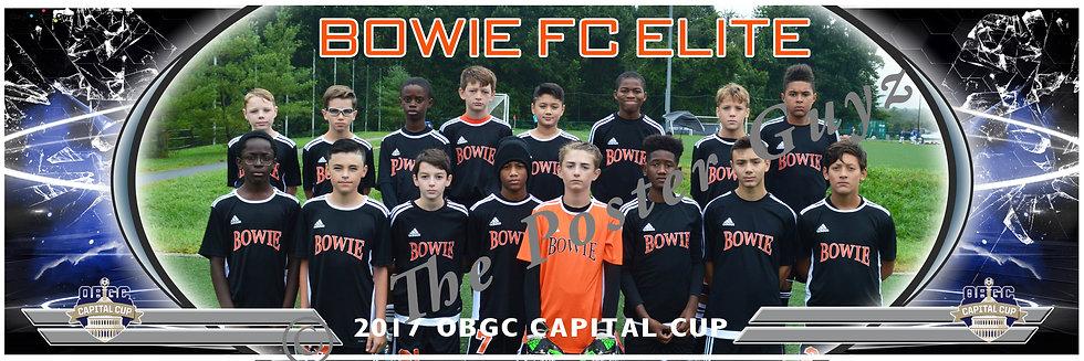 BOWIE FC ELITE BLACK Boys U14