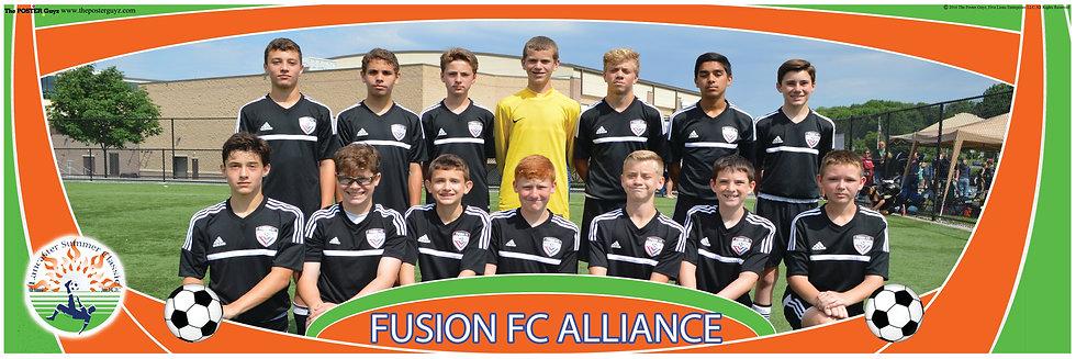 FUSION FC ALLIANCE U14B