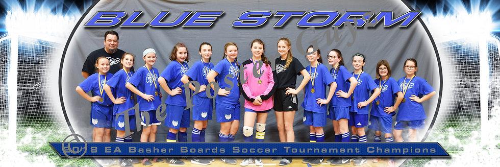 Blue Storm U12G Champions
