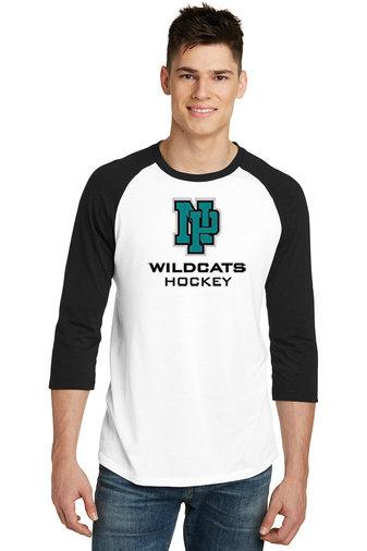 NP Wildcats-Baseball Style Shirt-NP Logo
