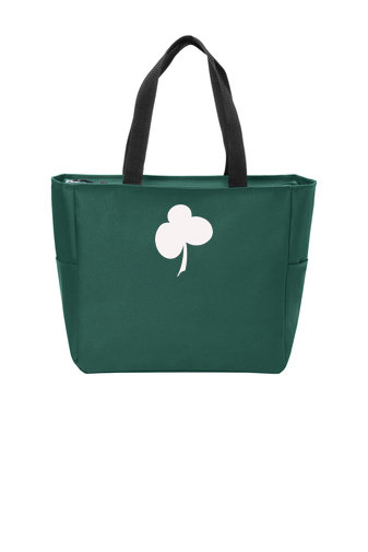 SaintKilian-Zippered Tote Bag