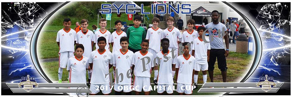 SYC LIONS 04 BLUE Boys U14
