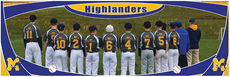 Highlanders Bronco Backs