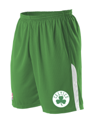 SaintKilian-NBA Replica Celtics Shorts