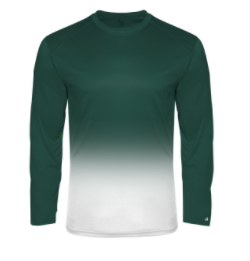 PRWexford-Badger Ombre Performance Long Sleeve