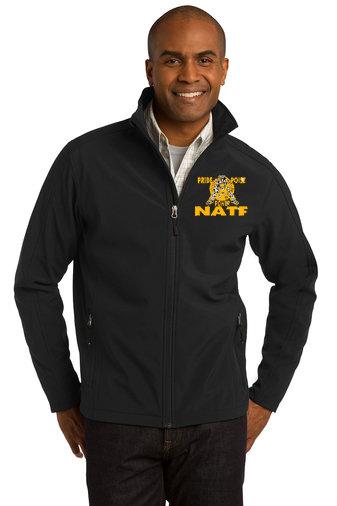 NATF-Men's Full Zip Soft Shell Jacket
